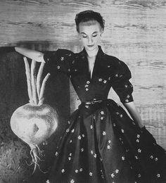 Mary Jane Russell    Harper's Bazaar, February 1952