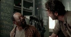 Morgan offers Rick as many guns as he needs but declines the offer to join his old friend