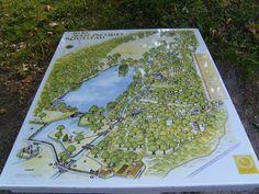 Parc Jean-Jacques-Rousseau at Ermenonville, France / created by René de Girardin (1765–76).