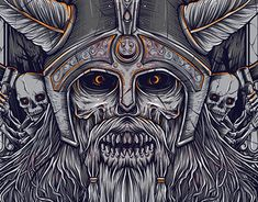 "Check out new work on my @Behance portfolio: ""VALHALLA"" http://be.net/gallery/62856947/VALHALLA"