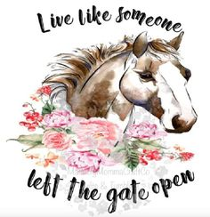 Gate Open Horse Waterslide Images /// laser printed waterslide / custom waterslide decals / tumbler making *Waterslide Ready To Use* Diy Tumblers, Custom Tumblers, Glitter Tumblers, Glitter Cups, Horseshoe Projects, Country Girl Quotes, Cow Pattern, Southern Sayings, Machine Embroidery Applique