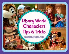 Kid friendly how to get Disney World character autographs includes finding the characters and how it works