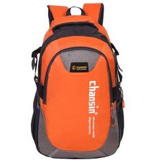 Sporty-Fashion Casual Durable High-Quality Large-Capacity Color-Block Backpack 9 Colors