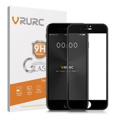 Vrurc Tempered Glass for iPhone 7 3D Curved edge Full Cover Screen Protector  Glass protective film with retail package //Price: $11.05//     #electonics