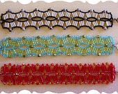 Instructions to create Rollin' Waves Bracelet - Beading Instructions