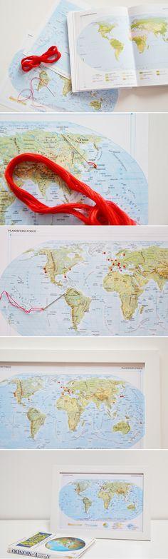 Travel memories - DIY © Gucki.it