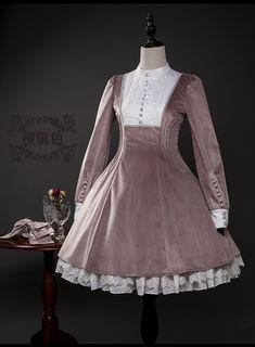 Larmes d'Anges -Nameless Maiden- Vintage Classic Lolita OP Dress