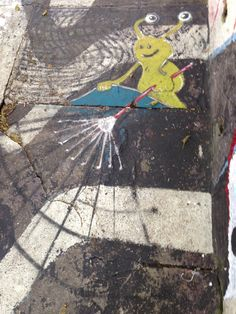 Rogue appearance of Sluggo in Sao Paulo, Brazil. (Thanks to Raquel Beolchi for finding him.)
