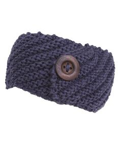Look what I found on #zulily! Gray Button Head Wrap by Le Chic #zulilyfinds