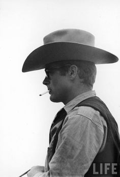 James Dean by Allan Grant on the set of Giant directed by George Stevens, 1956