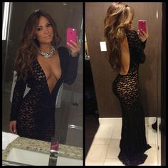 Happy New Year! Dress by @michaelcostello31 .. Be safe everyone!  - @jessicaburciaga- #webstagram