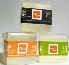 Men's Shaving Soap Cubes - Vegan!