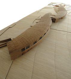 El Piso en el Cielo: Carpintería tecnificada/ Hotel del viento