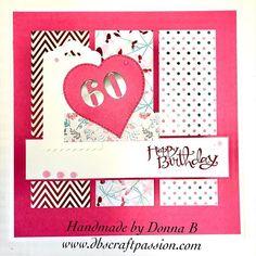 60th birthday card today #cardmakersofinstagram #cardmaking #papercrafts #papercraftersofinstagram #sixty #birthdaycard #handmade 60th Birthday Cards, Card Maker, Cardmaking, Paper Crafts, Passion, Handmade, Instagram, Making Cards, Hand Made