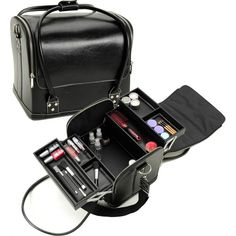Vanity Suitcase With Lights Travel Vanity Cosmetic Bag Makeup Case W Light  Beauty  Pinterest