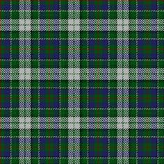 Information from The Scottish Register of Tartans #MacInnes #Blue #Tartan