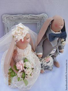 Куклы Тильды ручной работы. Ярмарка Мастеров - ручная работа Ах ,эта свадьба,свадьба!!!!!!. Handmade.
