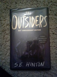 beginning of the outsiders book