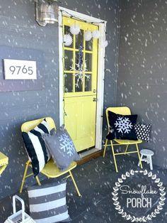 Snowflake porch