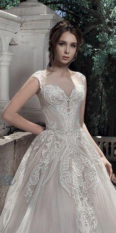 Milva Bridal Wedding Dresses 2017 Zahara / http://www.deerpearlflowers.com/milva-wedding-dresses/