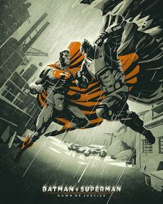 Batman vs Superman by Coke Navarro