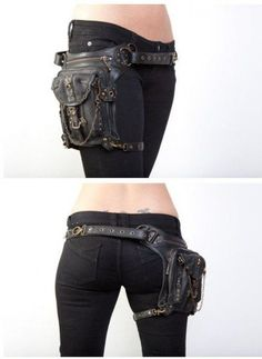 I can't believe I am pinning a fanny pack. But this looks surprisingly cool.