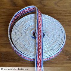 Brickband Oseberg – Röd-Blå-Vit
