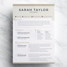 Making A Resume On Word Cv Resume Template Word Cover Letter Creative…  Resume Templates .