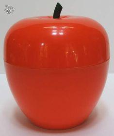 Bac à Glace POMME Orange DESIGN ANNEE 70 DECO LOFT Décoration Nord - leboncoin.fr