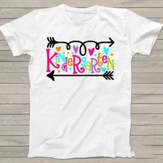Kindergarten Personalized First Day of School tshirt  by StoykoTs