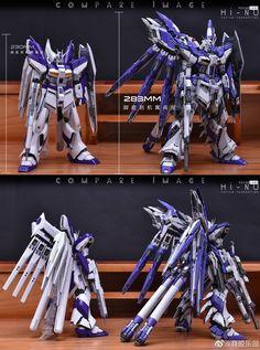 Full Official example images: MG 1/100 RX-93-v2 Hi-ν Gundam Ver.Ka Remodeled | GUNJAP Jiu Jutsu, Gundam Custom Build, Gundam Art, Mecha Anime, Gundam Model, Mobile Suit, Armors, Toys, Robots