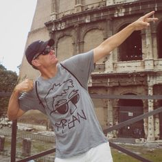 Mr Mean in Rome! Check out that firepower. Rome, Check, T Shirt, Fashion, Supreme T Shirt, Moda, Tee Shirt, Fashion Styles, Fashion Illustrations