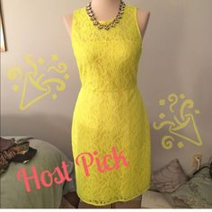 Host Pickbrand New J.Crew Neon Dress
