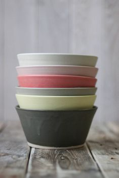 Arran Street East is introducing two new products to their range of simple, hand-made ceramic pieces, and they're beautiful. Irish Design, Hand Built Pottery, Arran, Nice Things, Bowls, Ireland, Street, Tableware, Kitchen