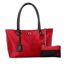 University Of Alabama Purse Attached Wallet Alabama Crimson Handbag Roll Tide