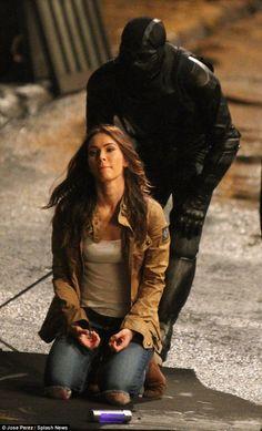 Megan Fox puts up a fight on set of Teenage Mutant Ninja Turtles 2 Ninja Turtles 2, Teenage Mutant Ninja Turtles, Butt Kicks, Upcoming Movies, Tmnt, On Set, Fox, Winter Jackets, Hero