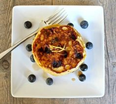 Lemon Ricotta Blueberry Pancakes | KitchenDaily.com