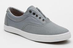 Matt - Grey no shoes laces