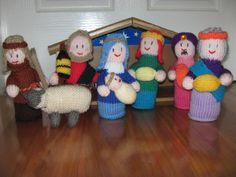 Ravelry: Knitted Nativity Scene pattern by Australian Women's Weekly
