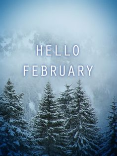 Hello February free photo HD #snow ®www.image-gratuite.com