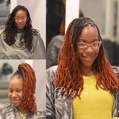 """1,228 Likes, 11 Comments - DMV Pro. Loctician Pstyles (@pstyles3) on Instagram: """"Double process color , retwist and style by Pstyles!! To buy products used go to:…"""""""