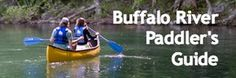 Buffalo National River campsites and info. Also, list of canoe outfitters at http://www.ozarkmtns.com/buffalo/canoe.asp