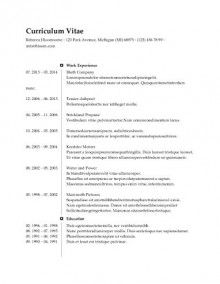 Simple Resume Template Free Free Resume Template  Resume Templates  Pinterest  Template