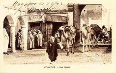 وصول قافلة الى الصويرة - المغرب