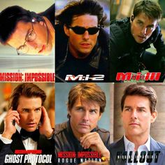 The Evolution of Ethan Hunt ( Tom Cruise) Tom Cruise Meme, Tom Cruise Films, Tom Cruise And Suri, Tom Cruise Hot, Top Cruise, Mission Impossible Series, Cruise Quotes, Ethan Hunt, Z Cam