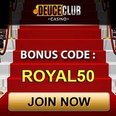 Impressive Casino Royal Bonus at Deuce Club - Bonus Brother Free Cash, Online Casino Bonus, Played Yourself, Gain, Thursday, Benefit, Brother, Coding, Club