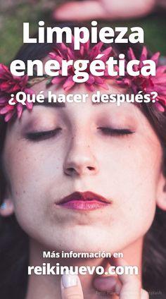 ¿Qué hacer después de una #limpieza #energética? #reiki + info: https://www.reikinuevo.com/que-debes-hacer-despues-limpieza-energetica/