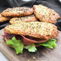 Sunde sandwichbrød - Protein sandwichbrød | Mummum.dk Best Homemade Spaghetti Sauce, Clean Recipes, Healthy Recipes, Scandinavian Food, Food Crush, Healthy Sandwiches, Eat Lunch, Protein, Healthy Eating