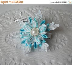 ON SALE Frozen Bow & sNOWFLAKE - Boutique Hair Bow - Elsa Birthday - Over the Top Bow - Elsa party - Girls Hair Bows