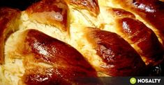 Challah, French Toast, Good Food, Food And Drink, Favorite Recipes, Bread, Baking, Breakfast, Sweet